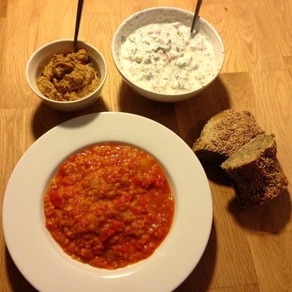 Dahl - lækker indisk vegetarmad