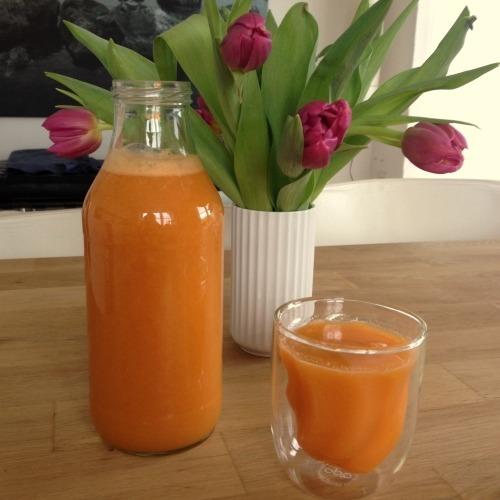 sød frugtjuice