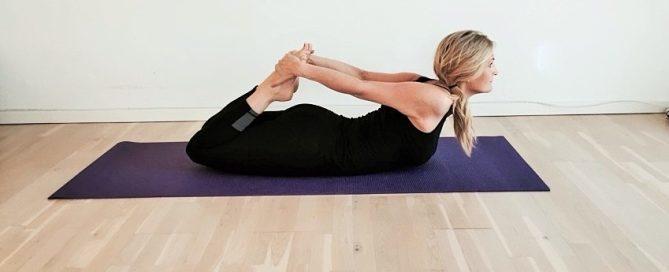 frøstilling, yoga, bhekasana