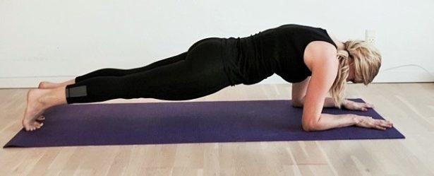 Yogastiling, planken