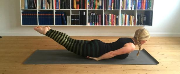 græshoppen, yoga