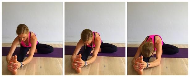 halv foroverbøjning, yoga, stræk