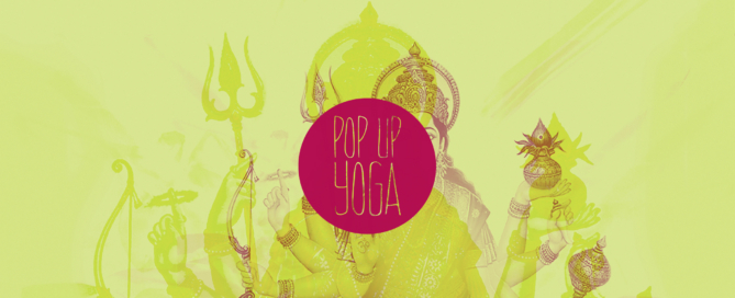 pop-up yoga
