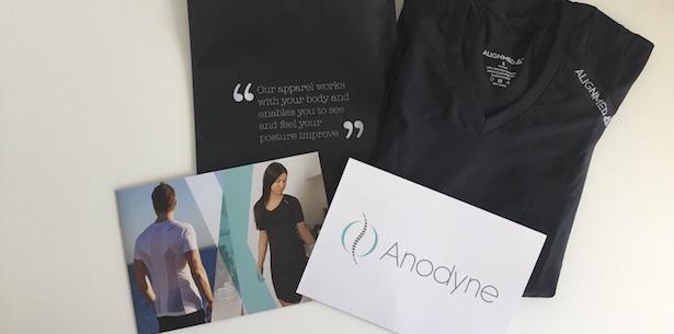 Anodyne holdningskoorigerede t-shirt