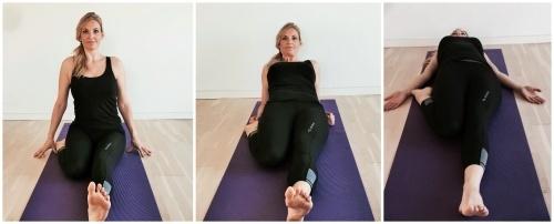 diamant, yoga strækøvelse, virasana