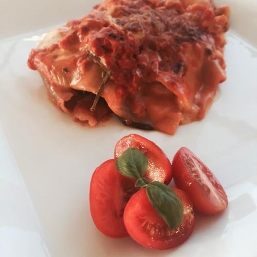 Grøntsagslasagne - min bedste opskrift på vegetar lasagne
