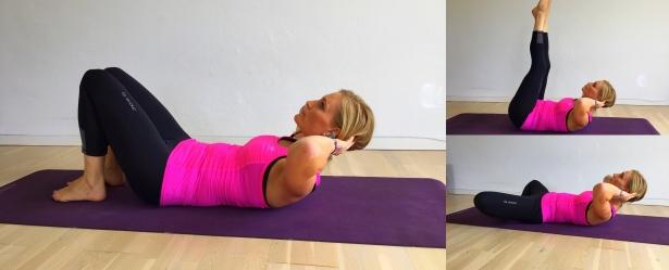 mavebøjninger, yoga, åndedræt