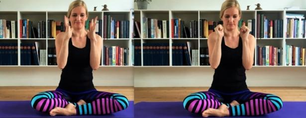 yoga opvarmning