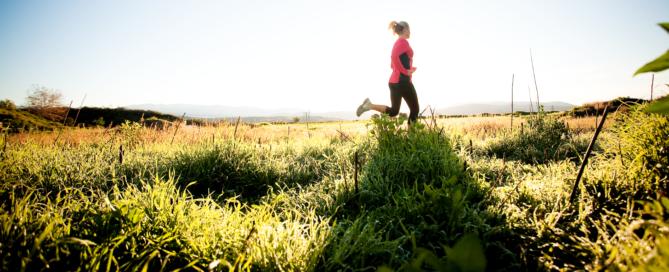 løb og yoga