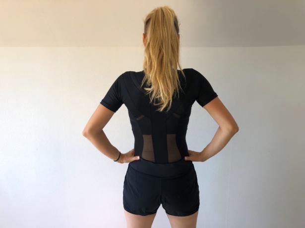 løb holdningskorrigerende tøj