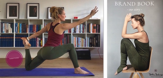 Yogatøj fra Bella Beluga