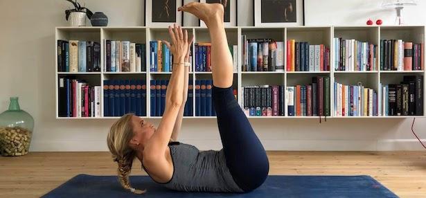 core øvelser yoga